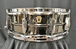 Ludwig Snare Drum 5x14 Black Beauty Smooth Shell w/ Imperial Lugs - B Stock