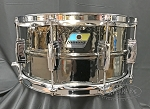 Ludwig Snare Drum 6.5x14 Hammered Black Beauty w/ Imperial Lugs - B Stock