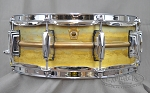 Ludwig Snare Drum 5x14 Raw Brass Shell