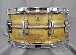 Ludwig Snare Drum 6.5x14 Raw Brass Shell