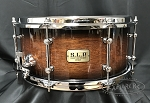 Tama Snare Drum S.L.P. 6.5x14 Dynamic Kapur in Black Kapur Burst