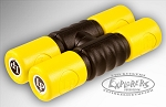 LP Twist Shaker Yellow Soft Double Shaker - Plastic