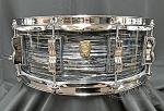 Ludwig USA Snare Drum 5x14 Classic Maple 7 Ply Shell in Vintage Black Oyster