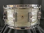 Ludwig Snare Drum 6.5x14 Classic Maple 7 Ply Shell in Olive Oyster