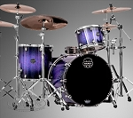 Mapex Saturn V Series Red Blue Sparkle 3 Piece Shell Pack