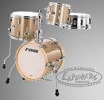 Sonor Martini Drum Set in Gold Galaxy Sparkle