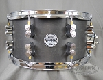 DW PDP Snare Drum 7x13 Concept Series All Maple Shell - Black Wax Finish