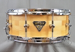 Dixon Snare Drum Artisan Series 5.5x14 Maple Block w/ 2.3mm Power Hoops