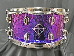 Dixon Snare Drum 6.5x14 Conerstone Series Titanium Plated Steel Shell
