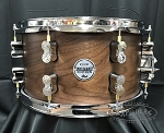 DW PDP Limited Edition Snare Drum 7x13 Concept Series Maple/Walnut 20 Ply Hybrid Shell - Natural Satin Finish