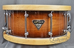 Dixon Chris Brady Artist Series 6.5 x 14 Australian Rose Gum Snare Drum with Wood Hoops