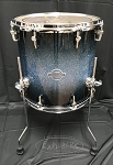 Sonor Select Force 14x14 7 Ply Maple Floor Tom - Blue Galaxy Sparkle