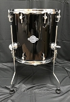Sonor Select Force 14x14 7 Ply Maple Floor Tom - Piano Black