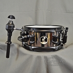 Sonor 10x5 Mamba Chrome Over Steel Side Snare w/ Mounting Arm