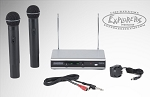 Samson Stage 266 Handheld System Wireless System w/ 2 Microphones