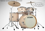 Tama Drum Set Silverstar 100% Birch 5 Piece Shell Pack in Matte Copper Sparkle