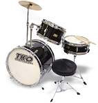TKO 3 Piece Junior Drum Set