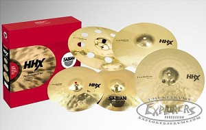 "Sabian HHX Evolution Promotional Set with FREE 18"" Evolution Ozone"