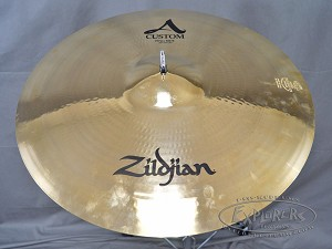 "Pasic Cymbal New Other - Zildjian 20"" A Custom Ping Ride Cymbal - 2190 Grams"