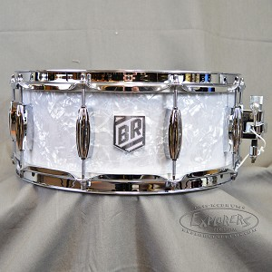 Trick 5.5x14 Buddy Rich 100th Anniversary Snare Drum in Blue Tinted White Marine Pearl # of 100