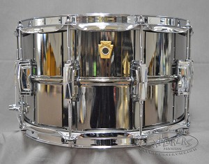 Ludwig 8X14 Supraphonic Black Beauty Brass Black Nickel Smooth Shell Snare Drum w/ Imperial Lugs - PASIC 2017 Snare Drum