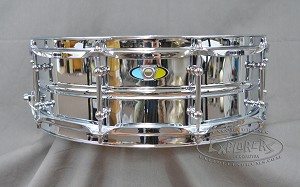 Ludwig 5x15 Supralite Steel Shell w/ Tube Lugs - PASIC 2017 Snare Drum