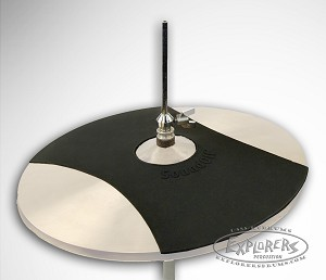 soundoff 14 hi hat cymbal mute for quiet practice. Black Bedroom Furniture Sets. Home Design Ideas