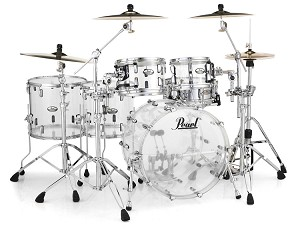 Pearl Crystal Beat 5 Piece 2 Up 2 Down Shell Pack