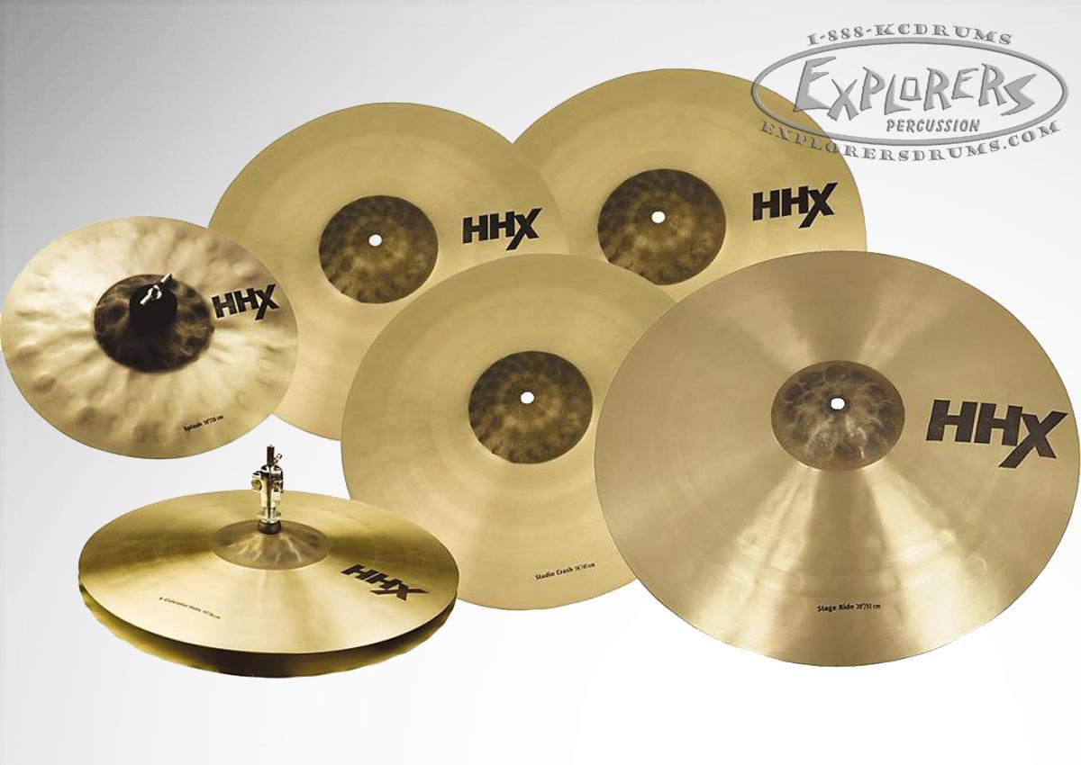 sabian hhx super set 5 piece cymbal box set w free 18 x plosion crash 10 splash. Black Bedroom Furniture Sets. Home Design Ideas