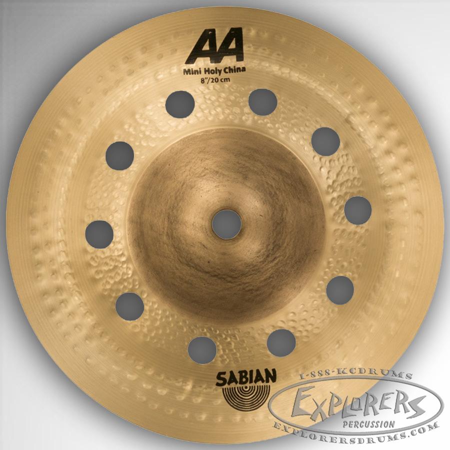 sabian 8 aa mini holy china effects cymbal. Black Bedroom Furniture Sets. Home Design Ideas
