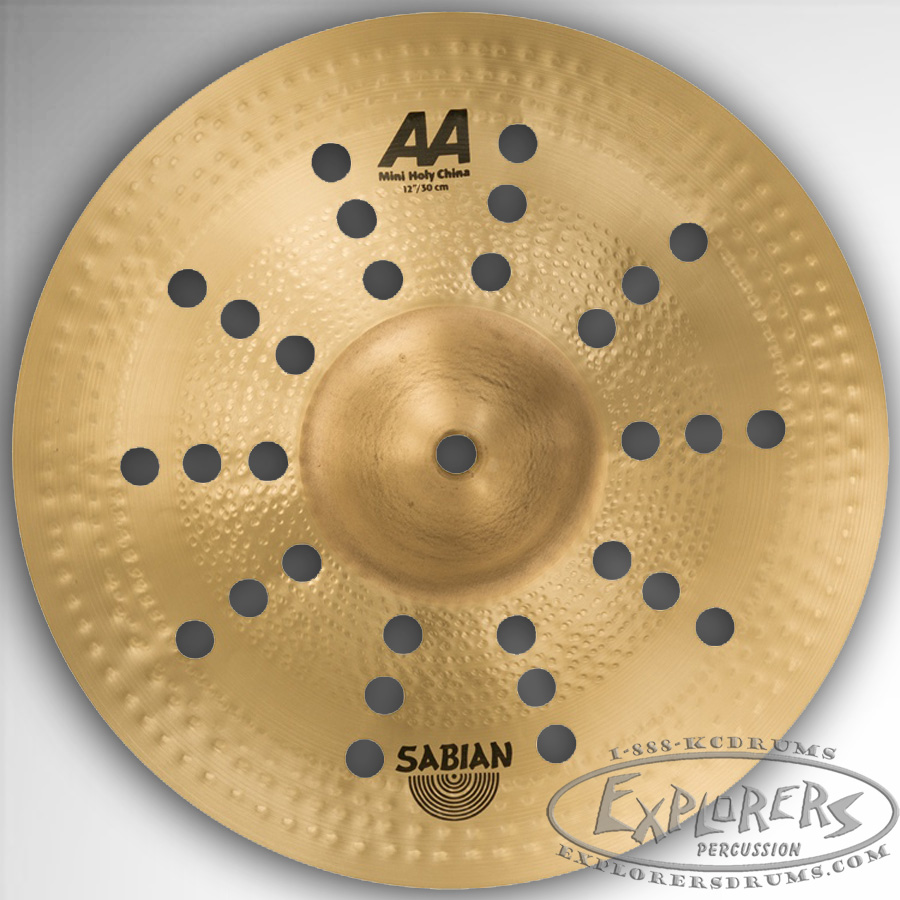 sabian 12 aa mini holy china effects cymbal. Black Bedroom Furniture Sets. Home Design Ideas