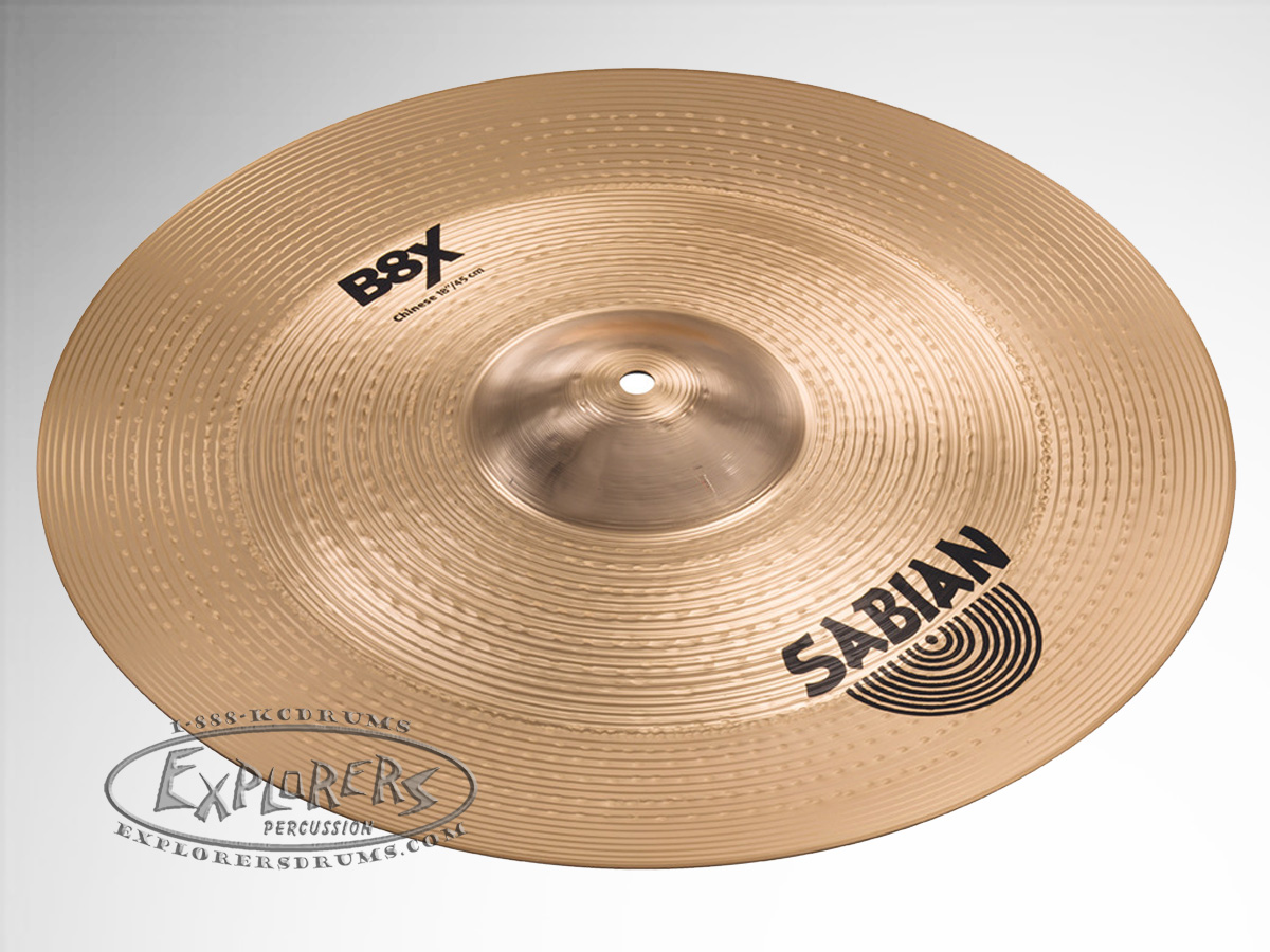sabian 18 b8x china effects cymbal. Black Bedroom Furniture Sets. Home Design Ideas