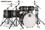 Mapex Drum Set Armory 6-Piece Studioease Birch/Maple Shell Pack in Black Dawn