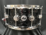 DW Snare Drum Collector's Series 6.5x14 Maple Shell 10+6 in Black Velvet