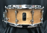 Mapex Snare Drum Black Panther Design Lab 6x14 Cherry Bomb 8 Ply Shell - Natural Satin