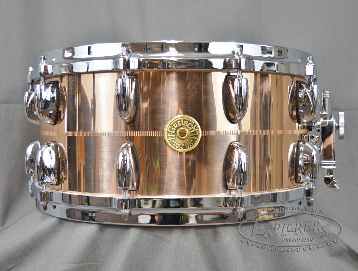 gretsch usa 6 5 x 14 bronze snare drum. Black Bedroom Furniture Sets. Home Design Ideas