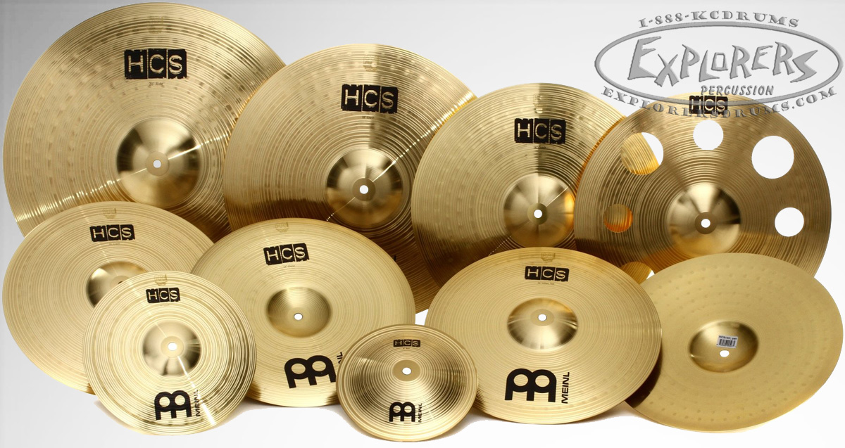meinl hcs 10 piece ultimate cymbal set. Black Bedroom Furniture Sets. Home Design Ideas