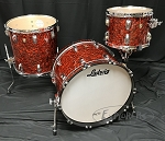 Ludwig Drum Set Classic Maple FAB 3 Piece Shell Pack in Sunset Diamond Pearl