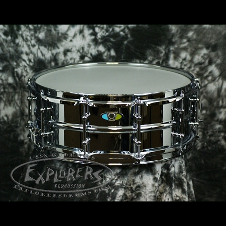 Ludwig Snare Drum Supralite 5.5x14 Steel Beaded Shell