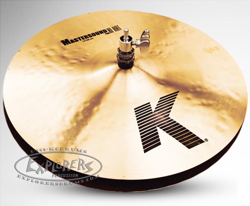 zildjian 14 k series mastersound hi hat cymbal pair. Black Bedroom Furniture Sets. Home Design Ideas