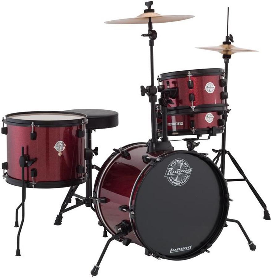 ludwig element evolution 6 piece complete drum set w hardware zildjian zbt cymbal pack. Black Bedroom Furniture Sets. Home Design Ideas