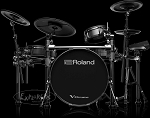 Roland V-Drums TD-50KVX-S Electronic Drum Set w/ FREE Roland Hydraulic Saddle Throne