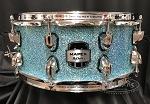 Mapex Snare Drum MyDentity Series 6x14 7 Ply Maple Shell in Turquoise Sparkle