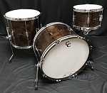 C&C Custom Drum Set Player Date 2 Big Beat 3 Piece 7 Ply Map/Mah/Map in Walnut Stain - 22