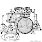 DW Drum Set Design Series 5 Piece Clear Acrylic Shell Pack