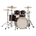 DW Drum Set Design 5 Piece Shell Pack in Tobacco Burst Lacquer