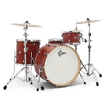 Gretsch Catalina Club Four Piece Shell Pack in Satin Walnut Glaze