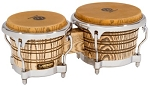 LP Galaxy Giovanni Series Bongos - Natural/Chrome