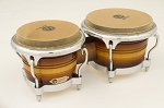 LP Generation II Bongos - Matte Sunburst/Chrome