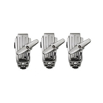 Ludwig Atlas Mount Tom Isolation System 3 Pack